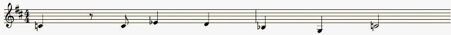 K'Ehleyr Theme: Noten
