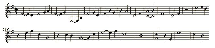 Hauptmelodie: Horn
