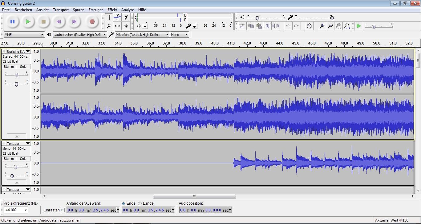 Stimme und Sprachaufnahmen verbessern mit Audacity