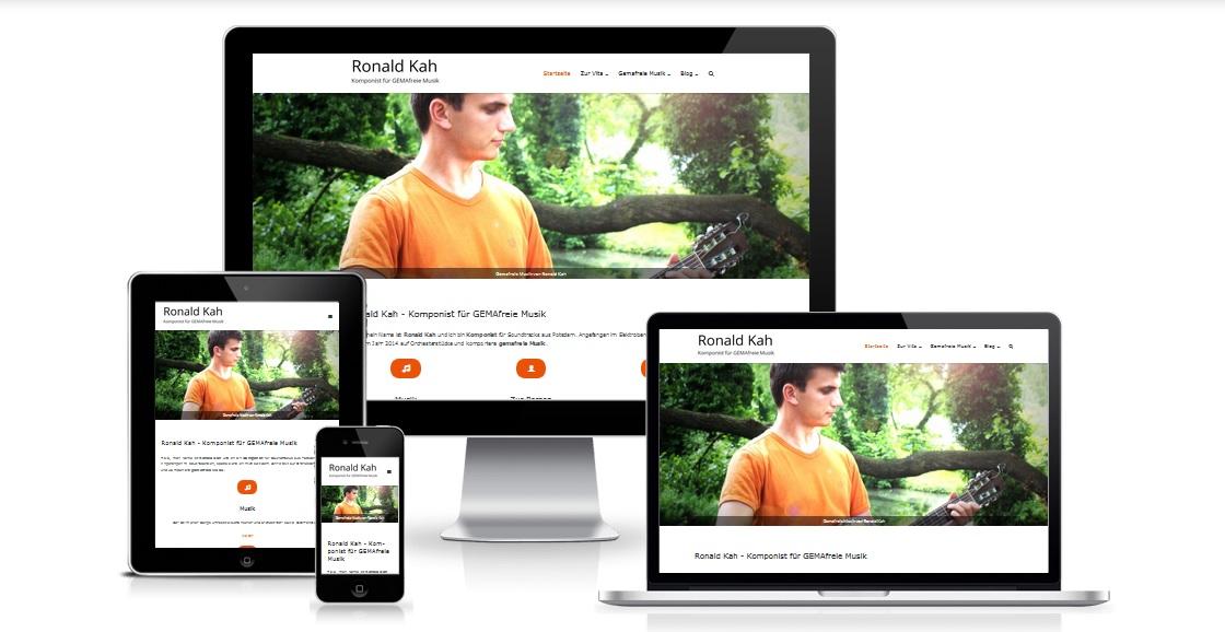 Responsive Website mobil