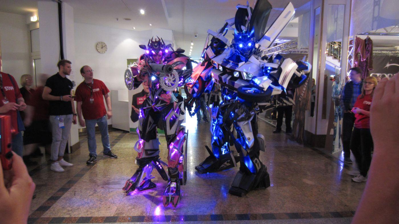 Transformers auf der FedCon 2016