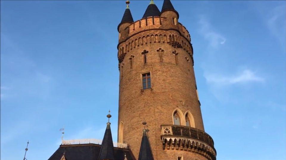 Park Babelsberg Potsdam - Flatow Turm
