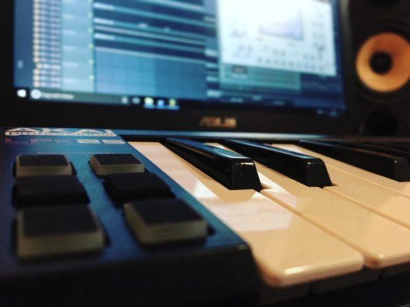 Filmmusik Studium - jeder fängt mal klein an
