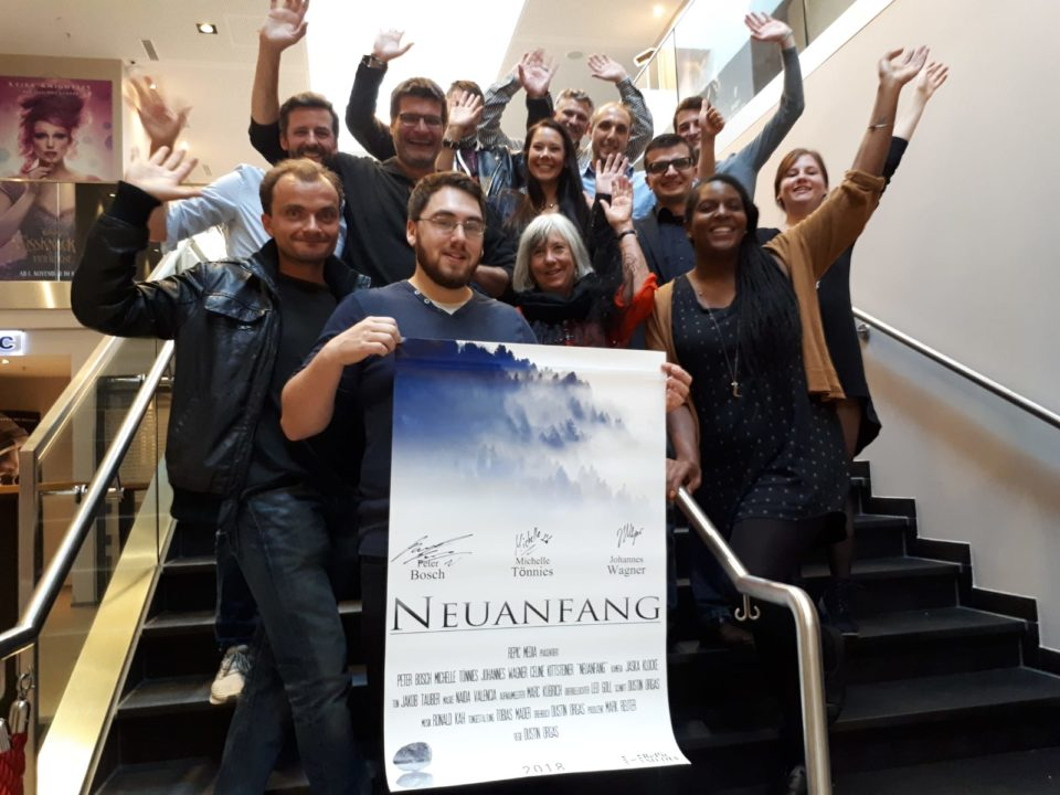 Filmcrew Neuanfang Premiere