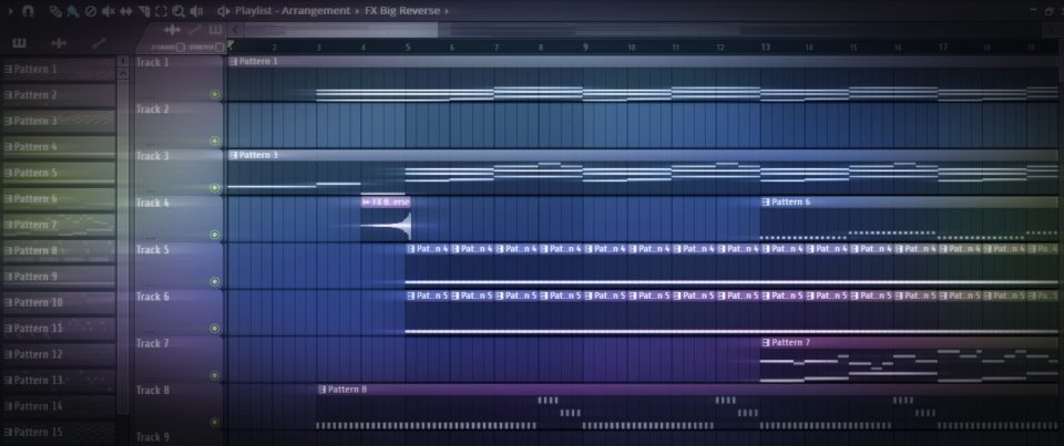 Arrangement in FL-Studio