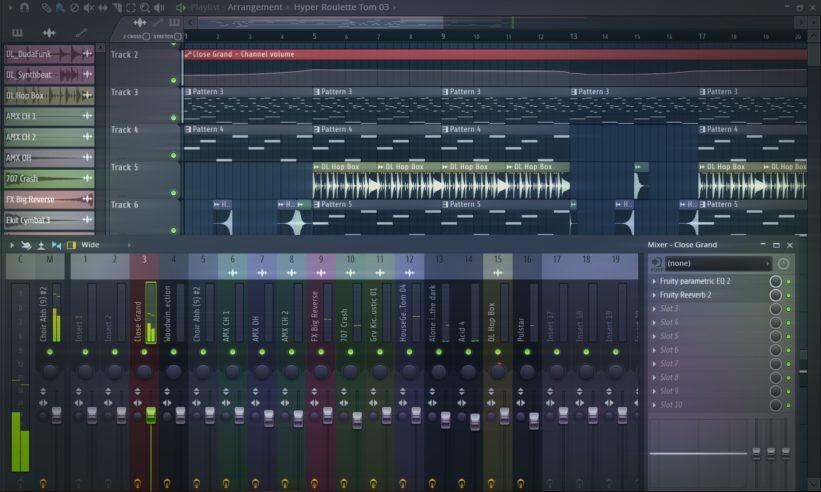 Musik abmischen