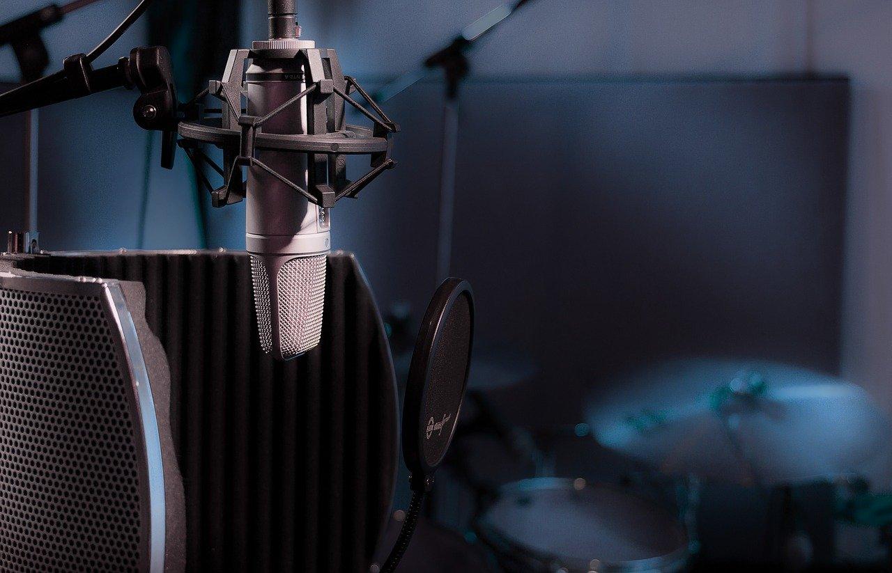 Mikrofon zum Aufnehmen