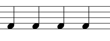 Non legato Symbol