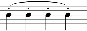 Portato Symbol