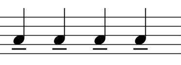 Tenuto Symbol