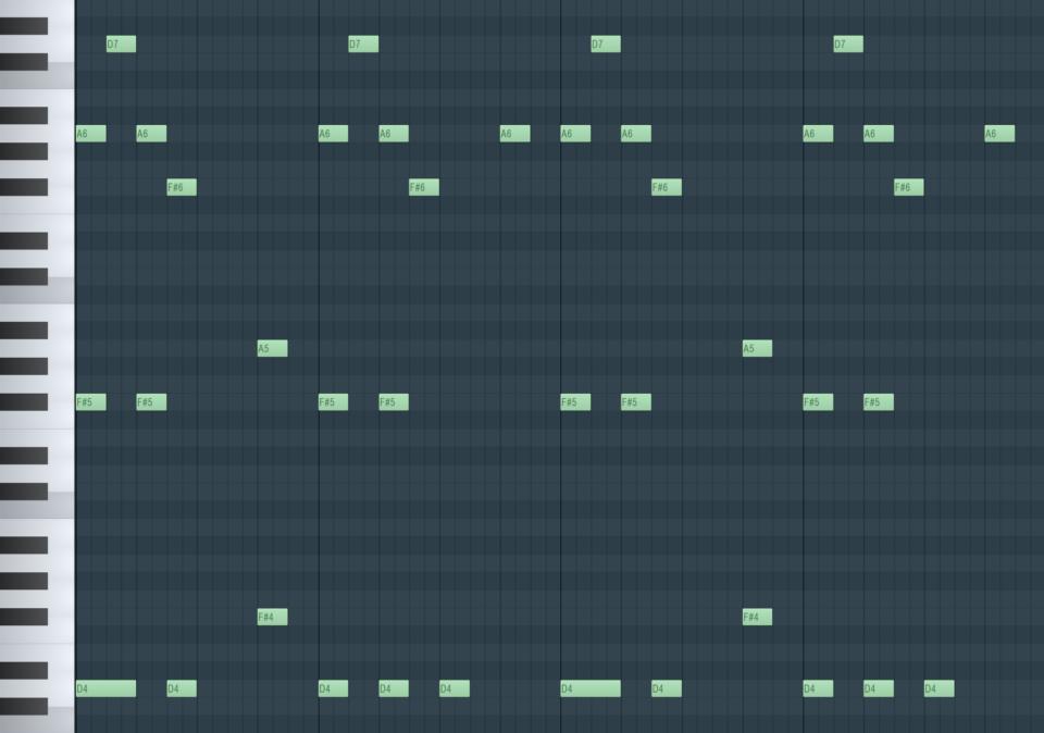 Harmonie Beispiel Bild