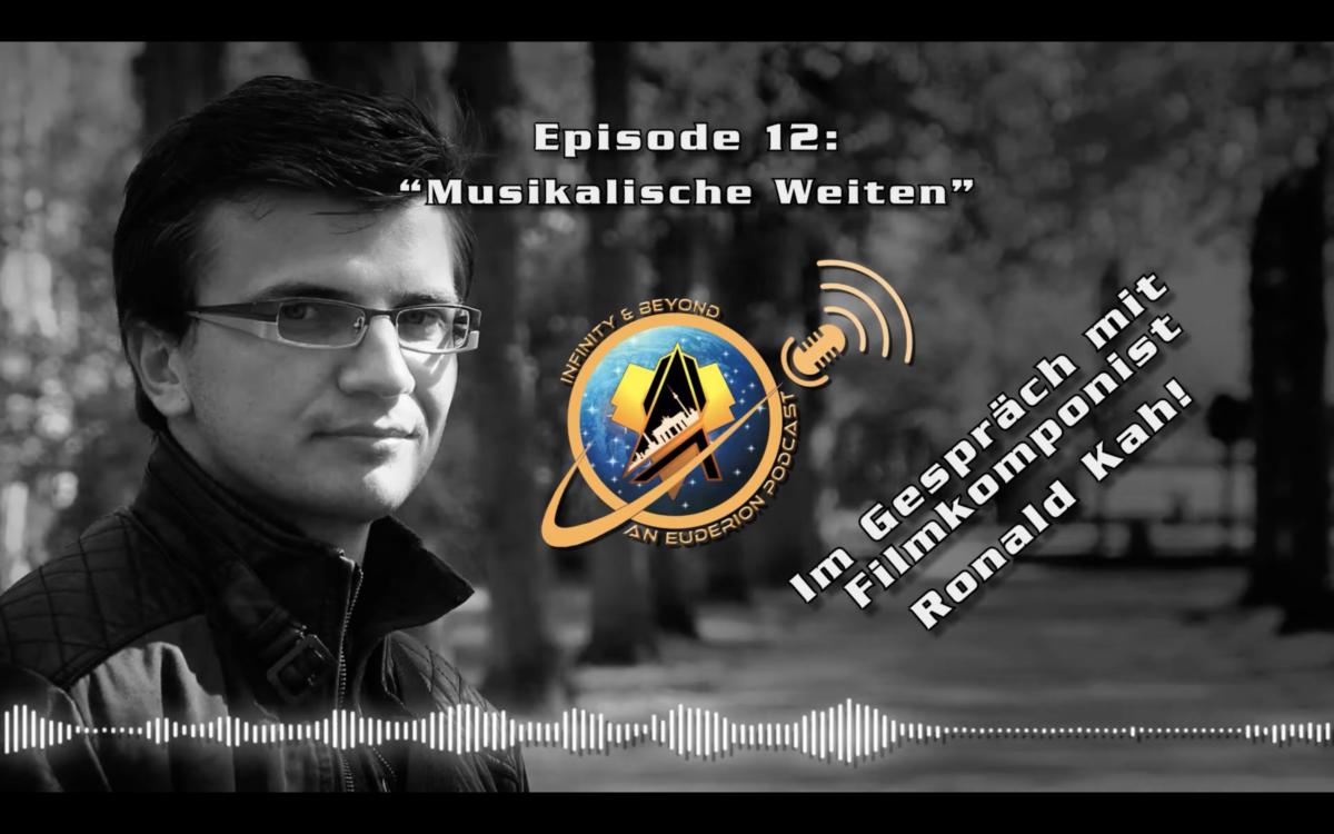 Ronald Kah zu Gast im Euderion Infinity Podcast