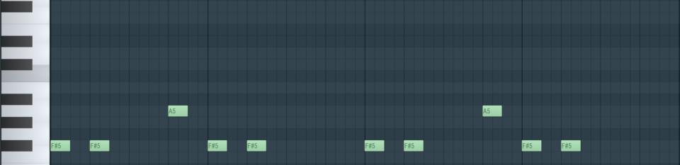 Zweite Stimme - fis