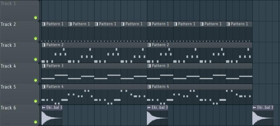 Techno Musik Beispiel